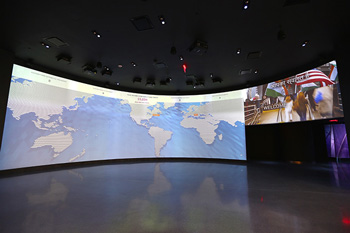 Visitor Map at One World Trade