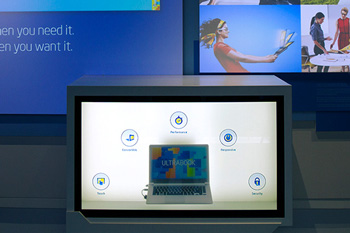 Intel Ultrabook Exhibit